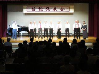 平成29年文化祭に「旅立つ日」で出演しました!