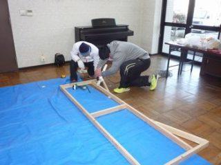 四日市・楠楽友協会第8回演奏会用反響板の改造報告