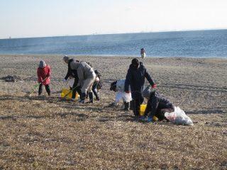 2018年2月4日(日)第110回 吉崎海岸清掃事業報告
