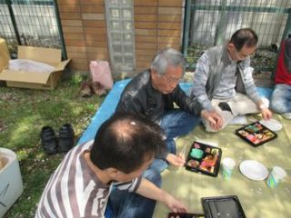 4月1日(日)、宝町自治会花見を宝桜並木で開催!