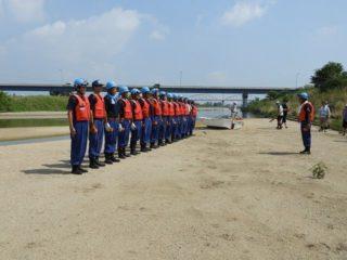 8月5日の鈴鹿川水難救助訓練を写真で見てみよう!