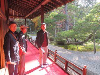 11月27日、京都紅葉旅行の報告