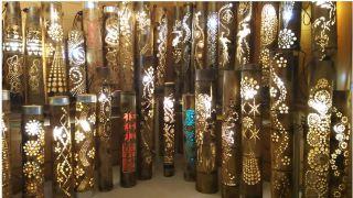 素敵な竹灯り作品展