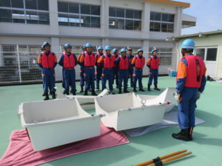 水難救助訓練