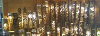 竹灯り実行委員会による年末の活動