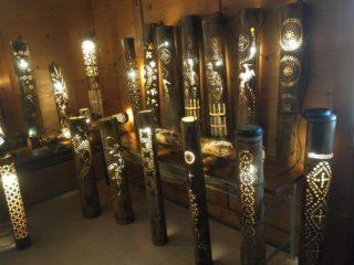 竹灯り展示会及び竹灯り教室とホタル観賞会の変更