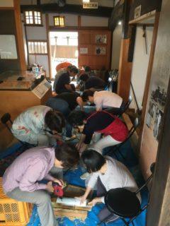 竹灯り教室の開催