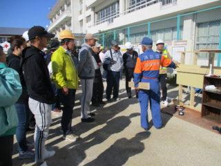 楠地区総合防災訓練11月10日に開催