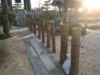 竹灯り令和元年と令和2年1月までの活動照会