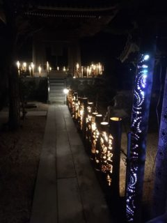 竹灯り夢の会 新年明けましておめでとうございます。